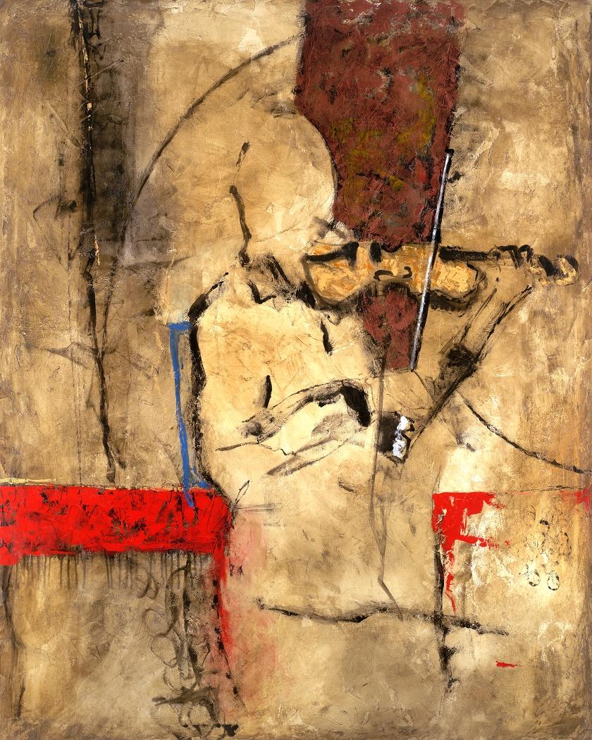 Melody, Acrílica, 140 x 120 cm