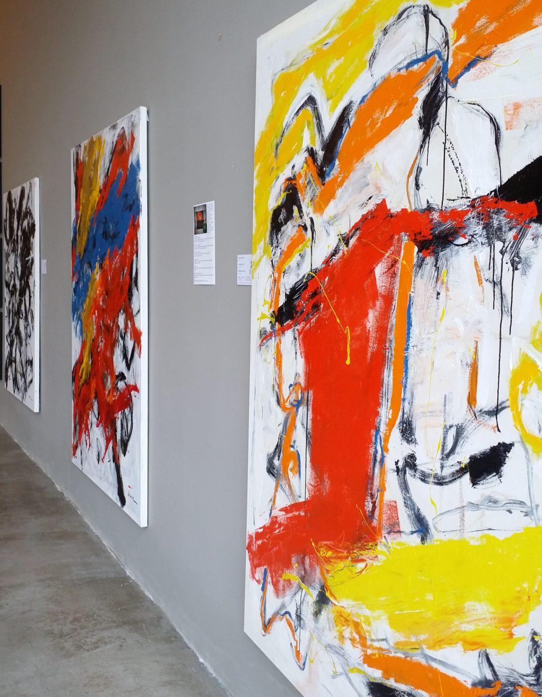 Obras Abstratas de Joarez Filho